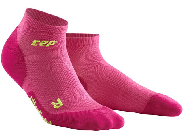 cep Dynamic+ Ultralight Low-Cut Socks Damen electric pink/green